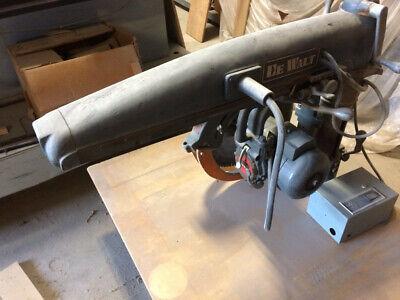Dewalt Radial Arm Saw Model 52 16-inch Blade Three-phase