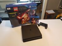 PS4 Slim 1TB pre-owned Lego Star Wars The Force Awakens Bundle.
