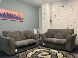 Grey corded sofas delivery ex display sofa suite couch furniture