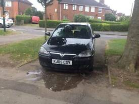 Vauxhall corsa 5 door good running car