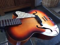 1960s German Archtop vintage guitar possibly Hoyer