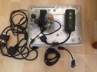 Crystal Xbox Original with X2VGA Adapter