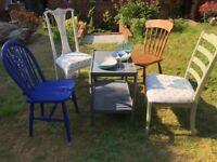Vintage Garden Furniture / Table & Chair Set