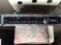 SWR 350X BASS AMP HEAD 350 WATTS With Footswitch