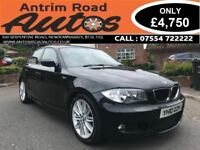 2010 BMW 120D M SPORT 180 BHP ** HALF LEATHER ** TRADE IN WELCOME