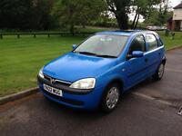 2001 Vauxhall Corsa 1.2 Manual Petrol Service History 9 Months MOT