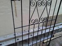 metal garden gate mint condition