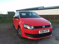 Volkswagen Polo 1.2 S 5 Door Hatchback VW Low Mileage 31K Comes With 11 Months MOT, Cheap to Run