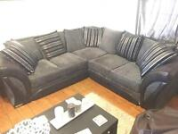 Shannon Corner Sofa & 2 Seat Sofa Set.