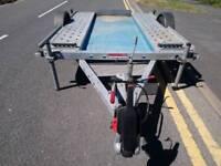 Smart car transport trailer