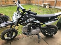 PitBike 90cc Mafia Bullet With Helmet and Goggles