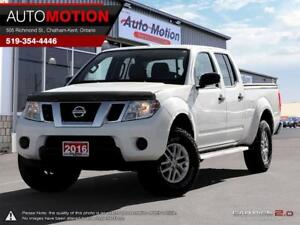 2016 Nissan Frontier SV CREW CAB LWB 5AT