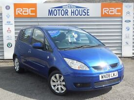 Mitsubishi Colt CZ2 (FULL SERVICE HISTORY) FREE MOT'S AS LONG AS YOU OWN THE CAR!! (blue) 2008
