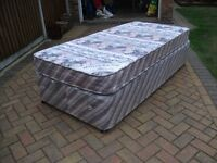 FREE 3ft Single Silent Night bed