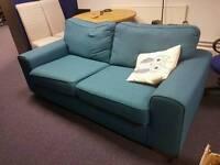Dfs sofa blue