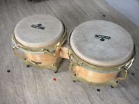 LP Matador Bongos - oak and gold