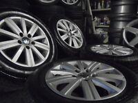 "15"" GENUINE VW alloys wheels caddy transporter camper golf mk5/6/7 skoda passat audi touran t4 t3"