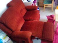 2 sitter recliner sofa