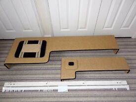 Pair of Box Padded Window Pelmets