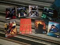 Spider man dvds