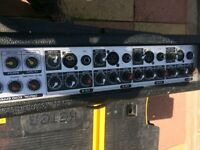 ASR HA-104 mixer amp 100W 4 channel .. HA - 104 With digital reverb and echo unit