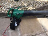 Qualcast electric garden blower/vacuum