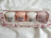 4 Yankee candles