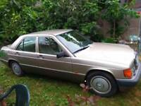 Mercedes-Benz 190 2.0 E 4dr£2,995 p/x welcome . CALSSIC CAR, VERY GOOD CONDITION IN AND OUT