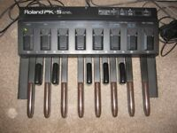 Roland PK-5A Dynamic Midi Pedal, good working order, with instruction Manual