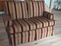 Multiyork Small 2-Seat Sofa. Red, Excelent condition.