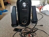 Wharfedale PC Stereo Speakers/Subwoofer