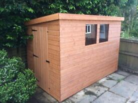 NEW HIGH QUALITY 6x4 T&G LEAN-TO PENT GARDEN SHED £374.00 ANY SIZE (FREE DELIVERY AND INSTALLATION)