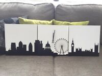Wall Clock - London Skyline - Brand New in box