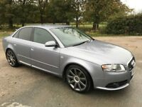 FOR SALE - Audi A4 S-Line. MOT 19/08/2018 Spares or Repairs - Oil pressure problem