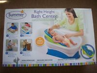 Summer 4 stage bath set (with original box)