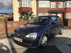 Vauxhall Corsa active 1L 03 Plate 79,000 Miles