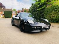 PORSCHE CAYMAN 2.7 - FULL BLACK LEATHER - GLOSS BLACK ALLOY WHEELS - TINTED WINDOWS