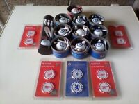 Ultra golf balls with Chelsea, Liverpool & England crest