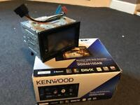 Double din stereo Kenwood dab