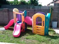Little Tikes 8 In 1 Play Centre Climbing Frame Outdoor Slides House