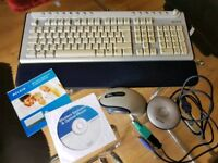 Belkin Wireless Keyboard and mouse with set up disc