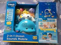 New Vtech Baby Cot Mobile 2-in-1 Projector & Toy