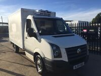 VOLKSWAGEN CRAFTER FRIDGE/FREEZER WITH 240V,59REG,NO VAT, FOR SALE
