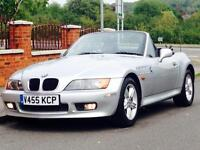 BMW Z3 1.9 ROADSTER 1999 140BHP ONLY 80k GENUINE LOW MILEAGE MOT CLEAN&TIDY LOVELY SUMMER CLASSIC
