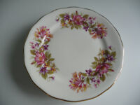 Colclough Bone China Side Plates (6) - Wayside Design in Good Condition