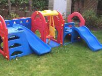 Toddler Backyard Climbing Frame & Swingset