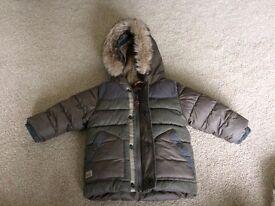 Boys Next coat 6-9 months, hardly worn