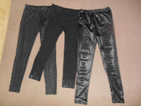 Black leggings bundle , size Small