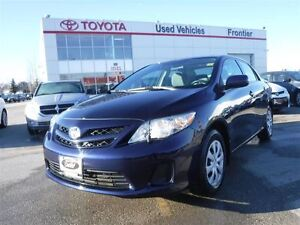 2013 Toyota Corolla CE TOYOTA CERTIFIED PRE OWNED