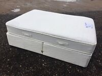 Luxury Double Bed Memory Foam & Mattress Clean Condition, Fast Free Delivery In Norwich,